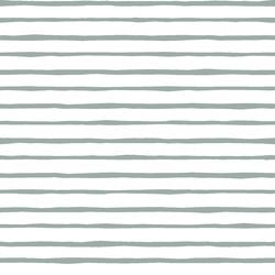 Artisan Stripe in Eucalyptus on White