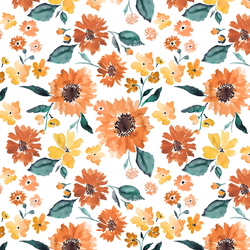 Watercolor Florals Fabric Collection by Indy Bloom at