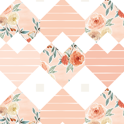 Patchwork in Barely Blush