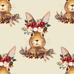 Autumn Hare in Soft Beige