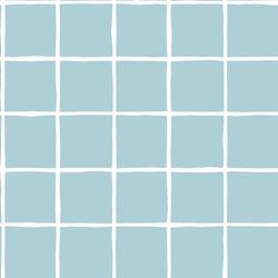 Windowpane in Powder Blue
