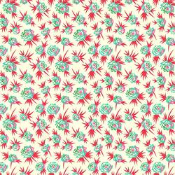 Ditsy Floral in Red