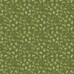 Leafy Spokes in Moss