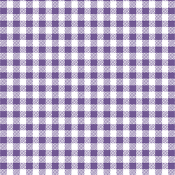 Small Buffalo Plaid in Ultra Violet