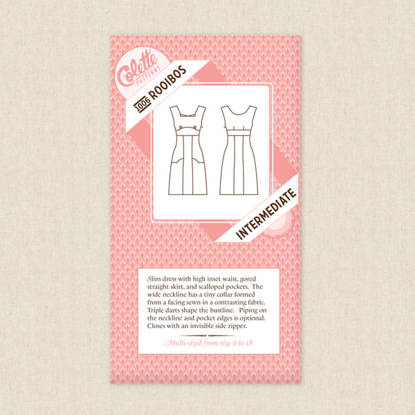 4bfb3b8a05 Rooibos Dress Sewing Pattern by Colette Patterns at Hawthorne Supply Co