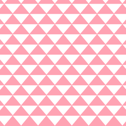Triangle Mosaic in Rose Pink