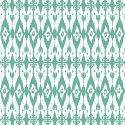 Ikat Parrot in Island Green