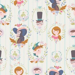 Neverland Darling Wall in Cream