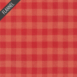 Mammoth Summer Plaid Flannel in Pimento