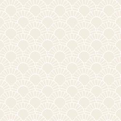 Mosaic Sun Tile in Shell