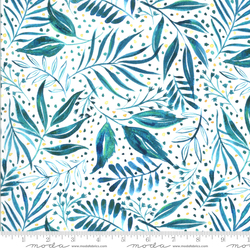 Breezy Botanical in Teal