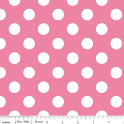 Medium Dots in Hot Pink