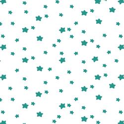Star Light in Jade on White