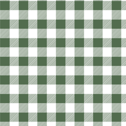 Medium Buffalo Plaid in Kale