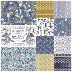 Blackbird Fat Quarter Bundle in Dove