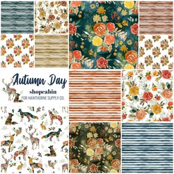 Autumn Day Fat Quarter Bundle