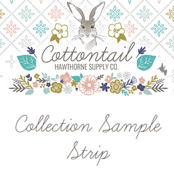 Cottontail Sample Strip