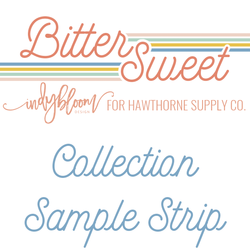 Bitter Sweet Sample Strip