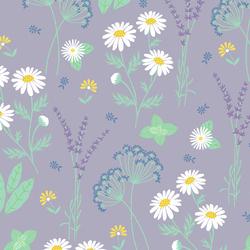 Garden Herbs in Lavender