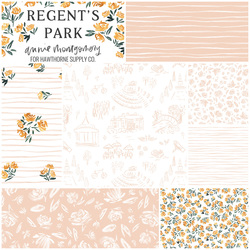 Regent's Park Fat Quarter Bundle in Blush