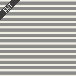 Striped Alike Knit in Grey