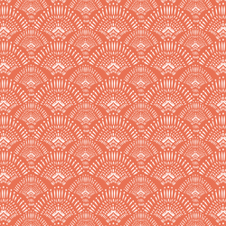 Woodland Boho in Bright Coral