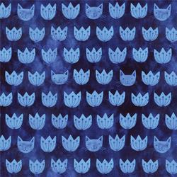 Mia in Blue