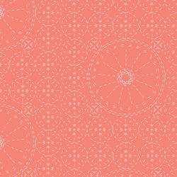 Sashiko Florette in Coral