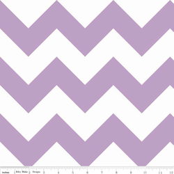 Large Chevron in Lavendar