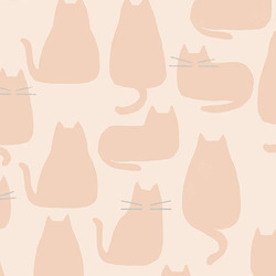 Whiskers in Pale Pink