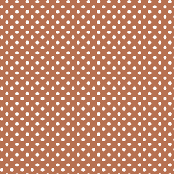 Tiny Dot in Terracotta