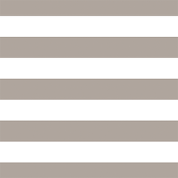 Horizontal Play Stripe in Taupe