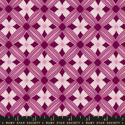 Tufted in Purple Velvet