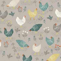 Chickens in Grey