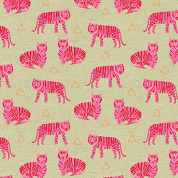 Tigers in Fuschia