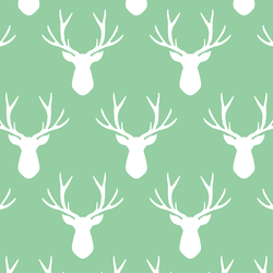 Stag Silhouette in Sprout