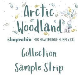 Arctic Woodland Sample Strip