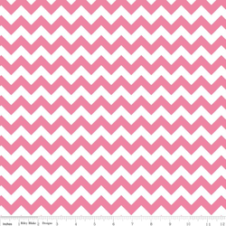 Small Chevron in Hot Pink