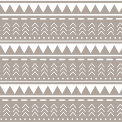 Mountain Stripe in Taupe