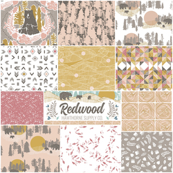 Redwood Fat Quarter Bundle in Berry