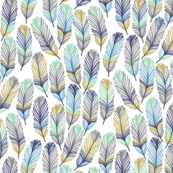 Feathers in Mariner Briney Seas
