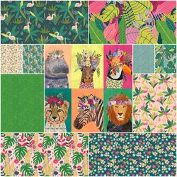 Junglemania Fat Quarter Bundle