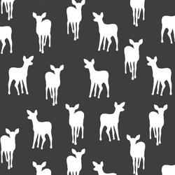 Fawn Silhouette in Onyx