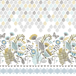 Botanical Border in Thicket