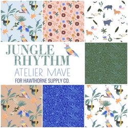 Jungle Rhythm Fat Quarter Bundle