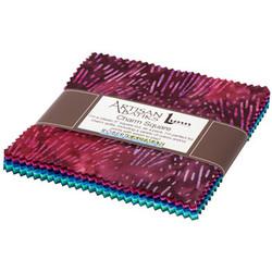 """Garden Style Artisan Batiks 5"""" Square Pack"""