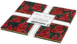 "Holiday Moments Artisan Batiks 10"" Square Pack"