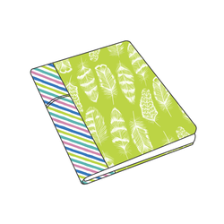 Notebook Cover Panel in Neon