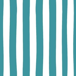 Stripes in Teal