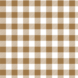 Medium Buffalo Plaid in Ochre